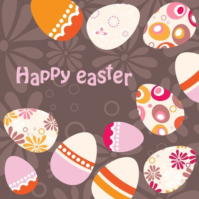 220 Best Easter Graphics in 2020: Free & Premium - easter egg background 15958