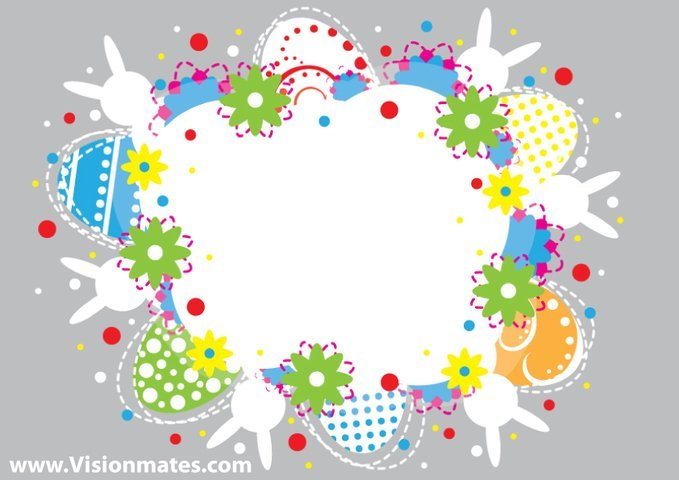 220 Best Easter Graphics in 2020: Free & Premium - easter vector card 28464