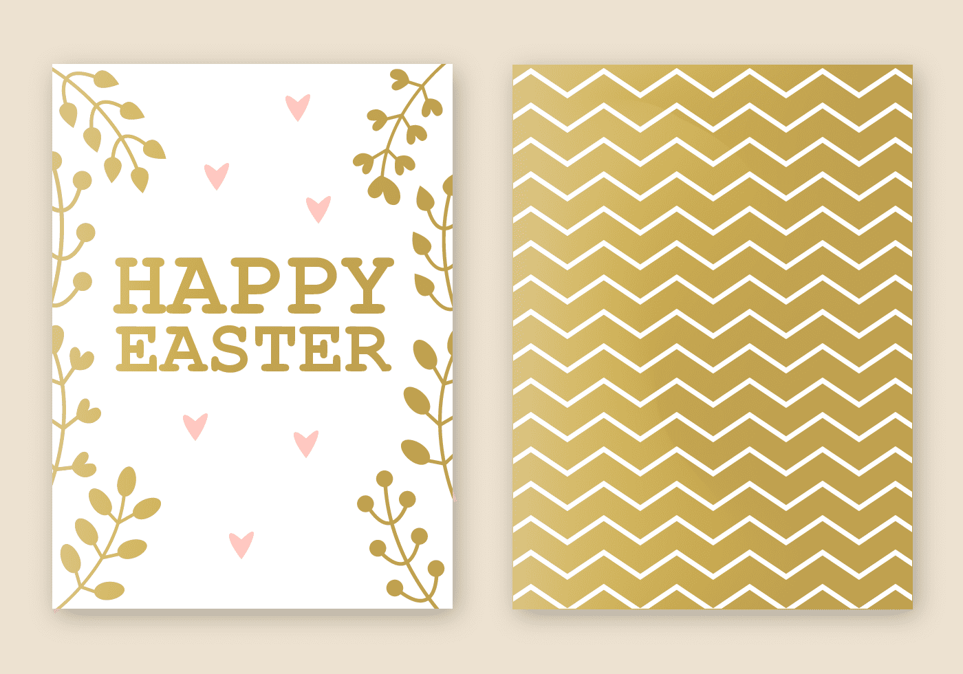 220 Best Easter Graphics in 2020: Free & Premium - free easter card vector 1