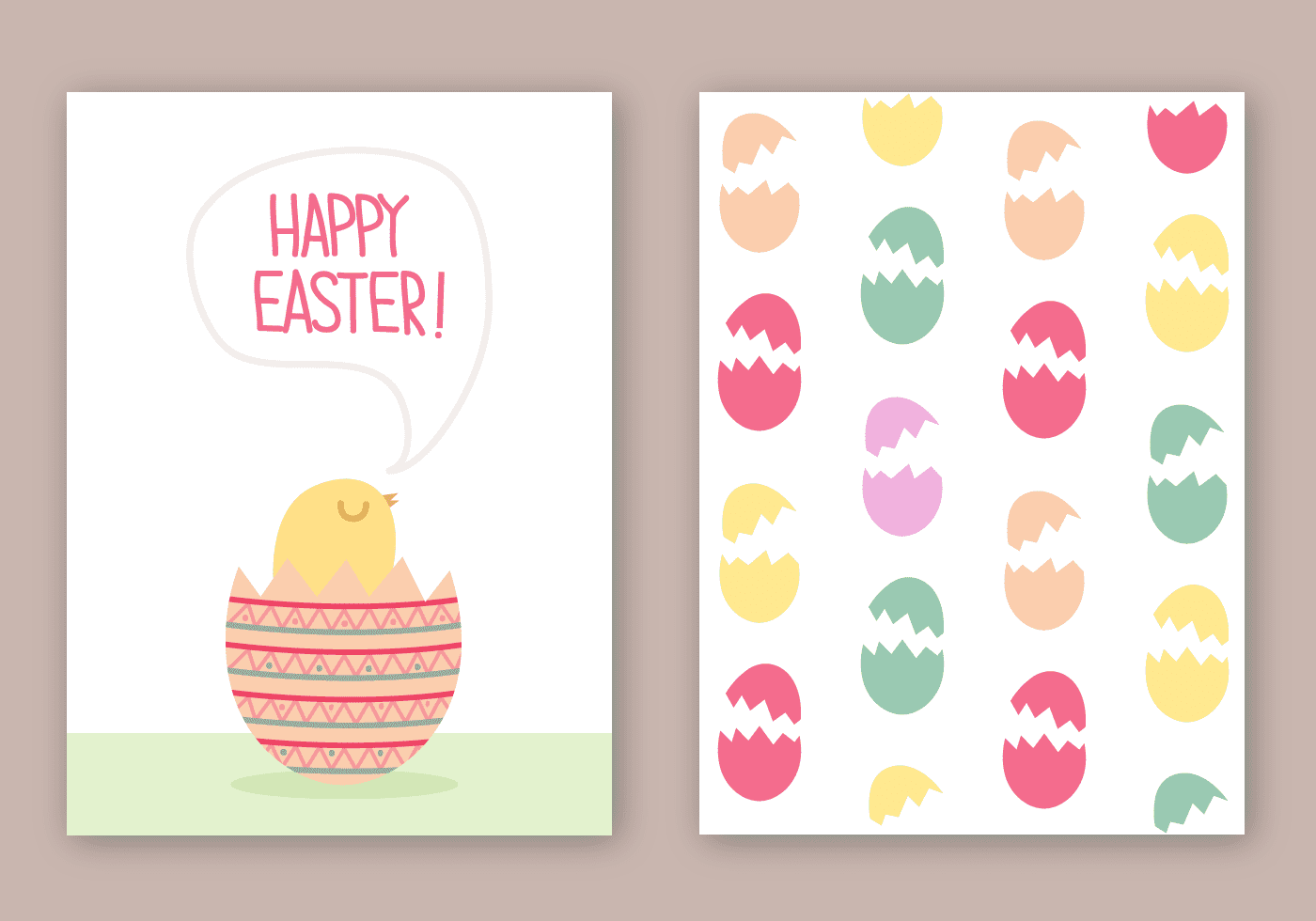 220 Best Easter Graphics in 2020: Free & Premium - free easter card vector
