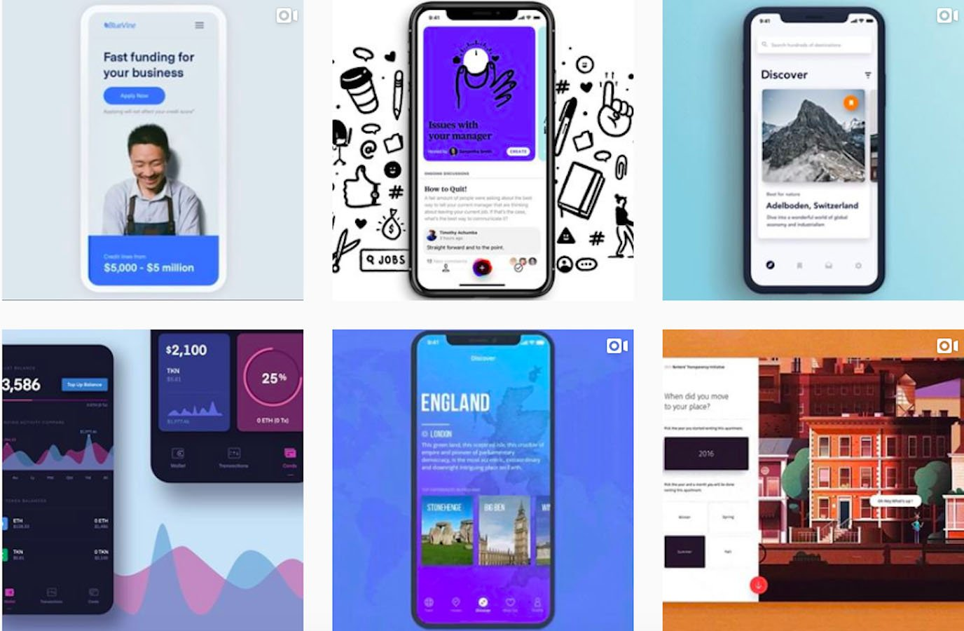 Web Design Inspiration: 110+ Accounts On Instagram and 10+ Best UX & Web Design Books in 2020 - gifux