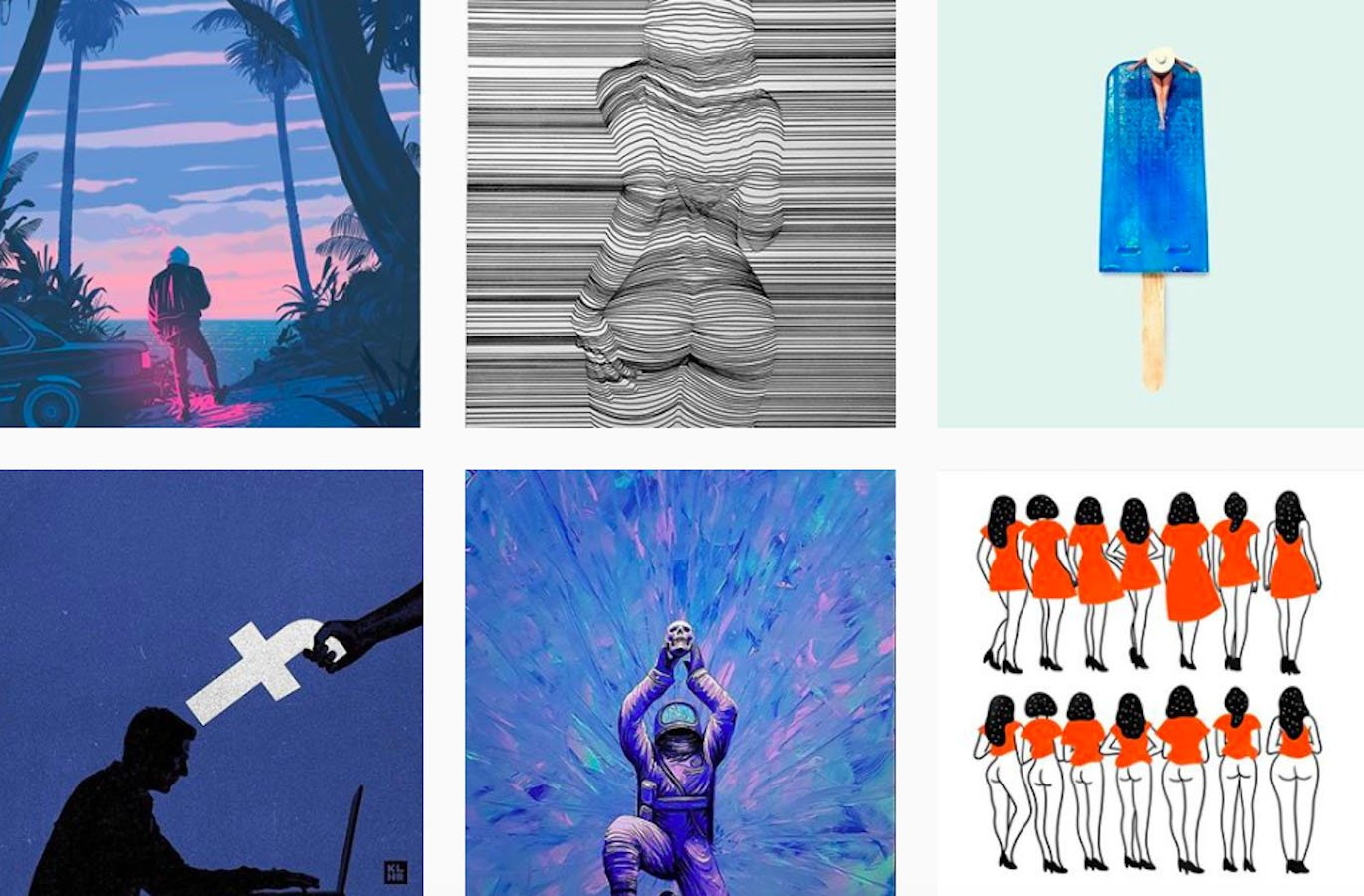 Web Design Inspiration: 110+ Accounts On Instagram and 10+ Best UX & Web Design Books in 2020 - graphicgang