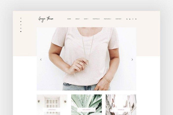 Grazie - Blog + eCommerce Theme