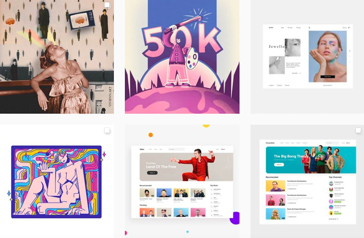 Web Design Inspiration: 110+ Accounts On Instagram and 10+ Best UX & Web Design Books in 2020 - gtamarashvili
