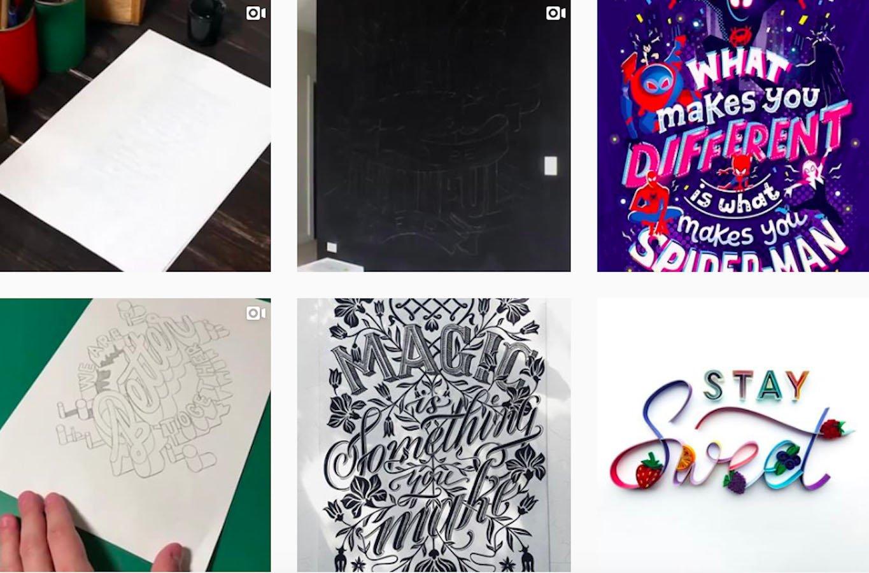 Web Design Inspiration: 110+ Accounts On Instagram and 10+ Best UX & Web Design Books in 2020 - handmadefont