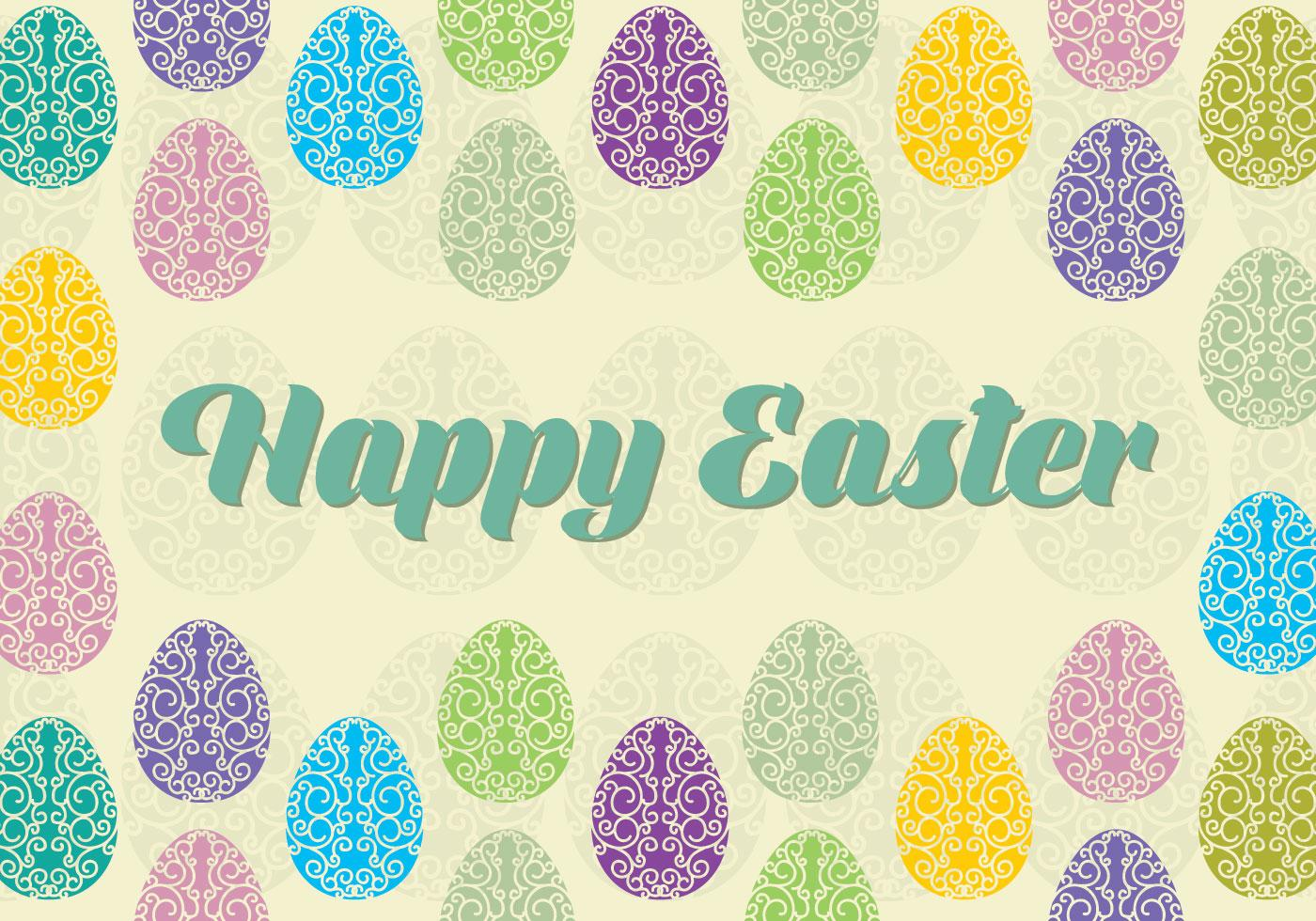 220 Best Easter Graphics in 2020: Free & Premium - happy easter background vector