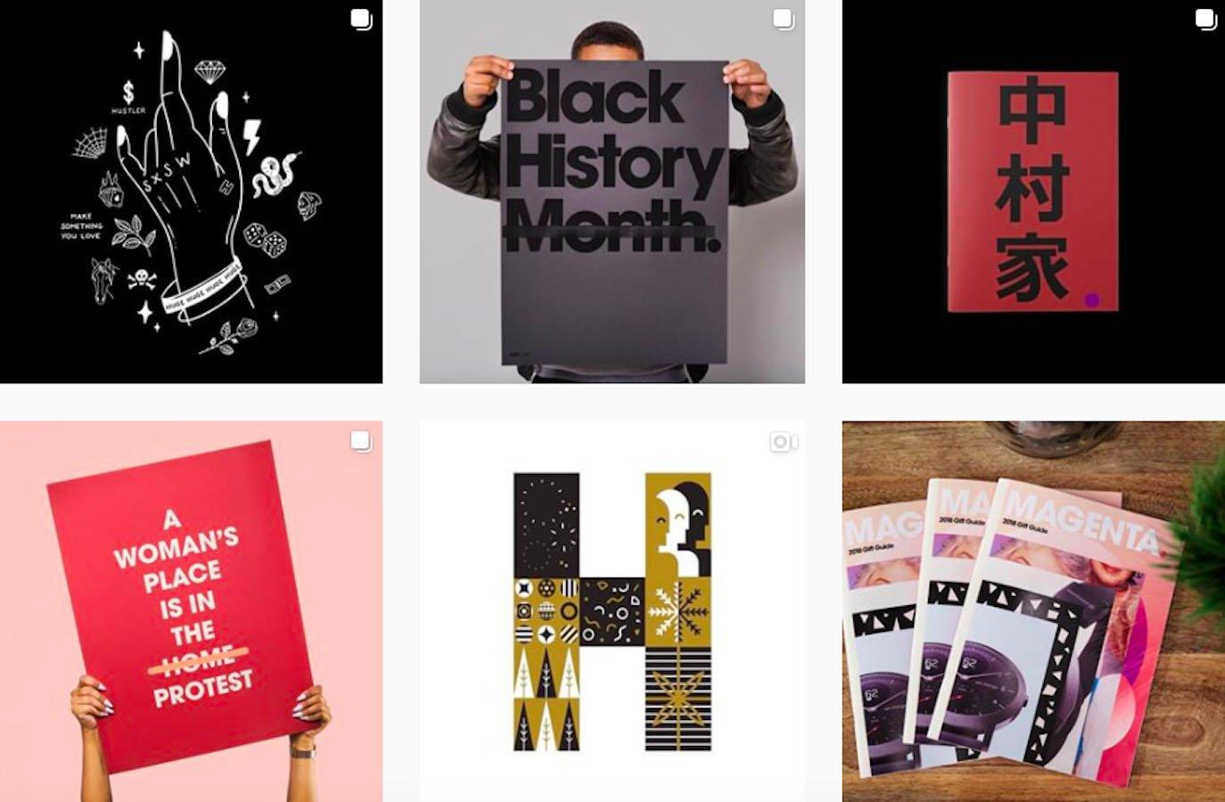 Web Design Inspiration: 110+ Accounts On Instagram and 10+ Best UX & Web Design Books in 2020 - hugeinc