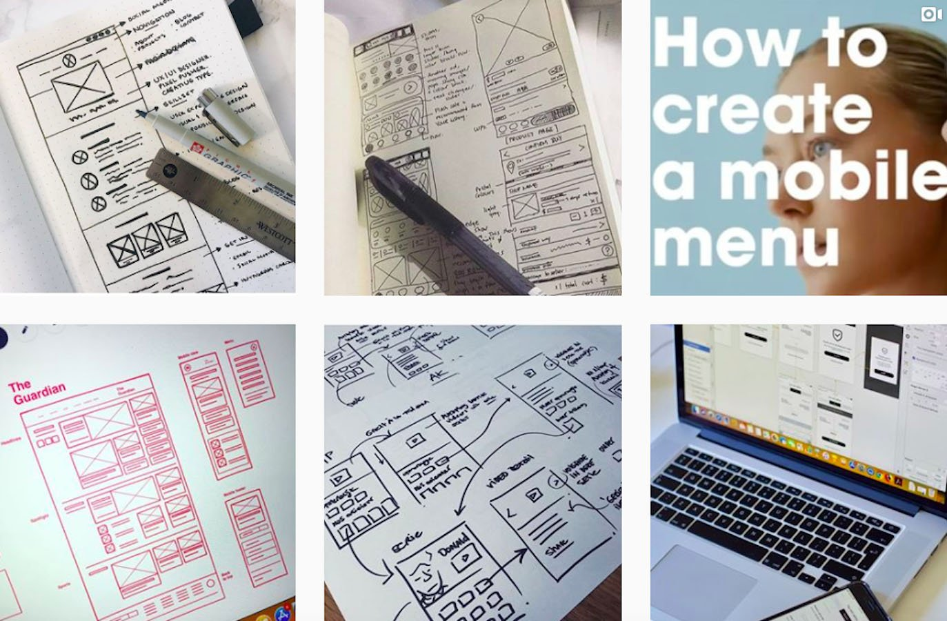 Web Design Inspiration: 110+ Accounts On Instagram and 10+ Best UX & Web Design Books in 2020 - humble ux