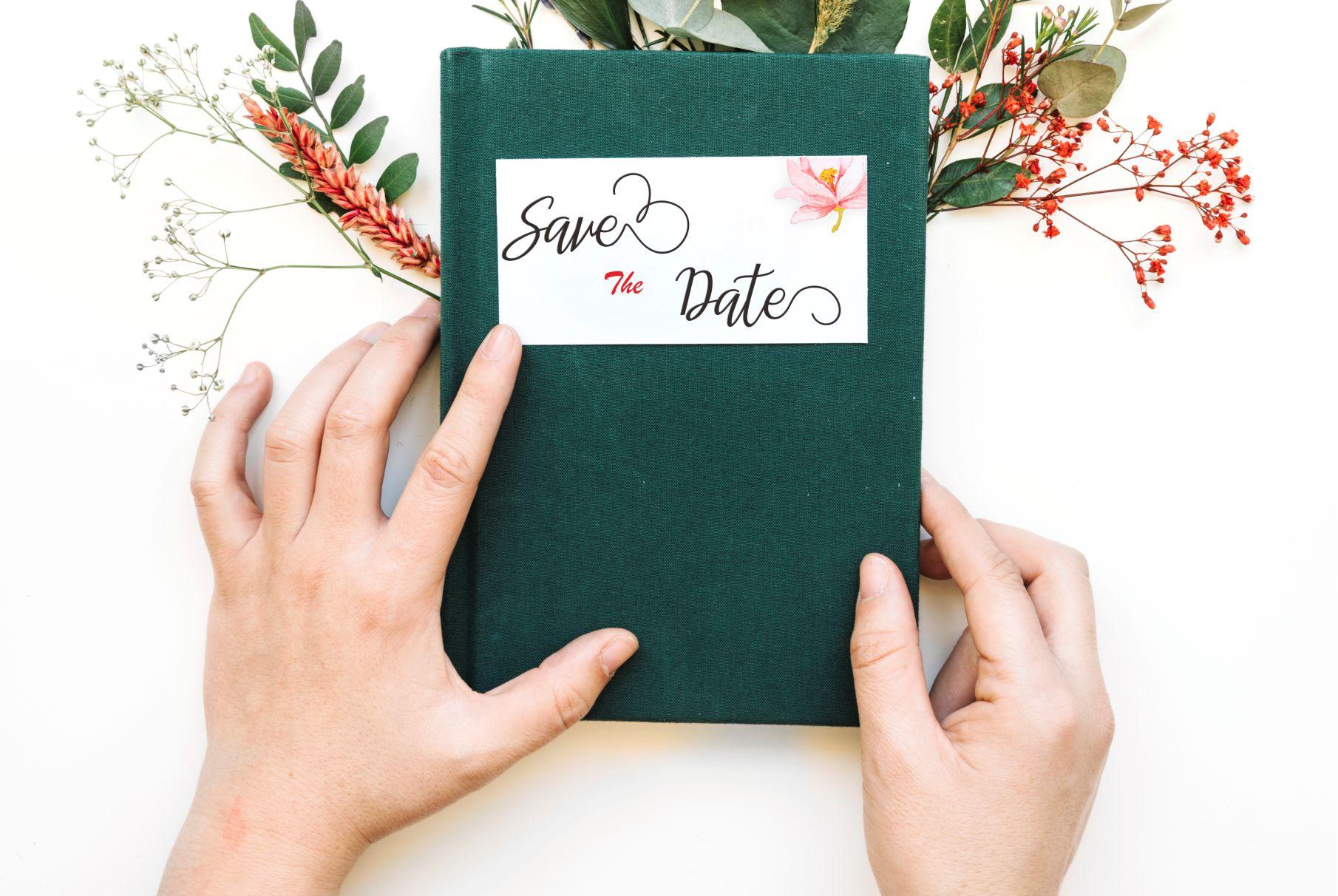 Imelda Wedding Rustic Hand-based Typography