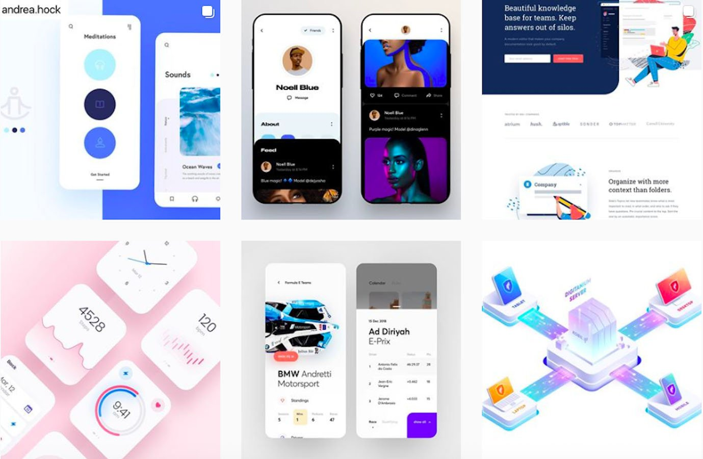 Web Design Inspiration: 110+ Accounts On Instagram and 10+ Best UX & Web Design Books in 2020 - instaui