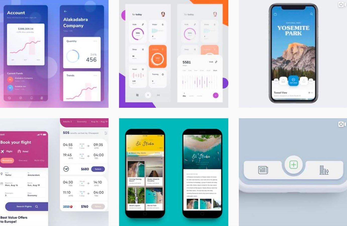 Web Design Inspiration: 110+ Accounts On Instagram and 10+ Best UX & Web Design Books in 2020 - iosinspiration