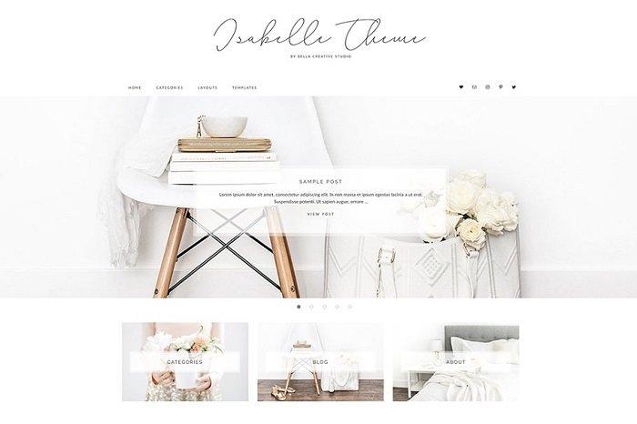 Isabelle - WordPress Theme