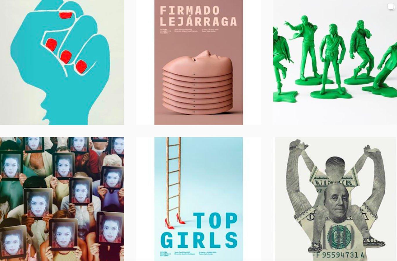 Web Design Inspiration: 110+ Accounts On Instagram and 10+ Best UX & Web Design Books in 2020 - javier jaen