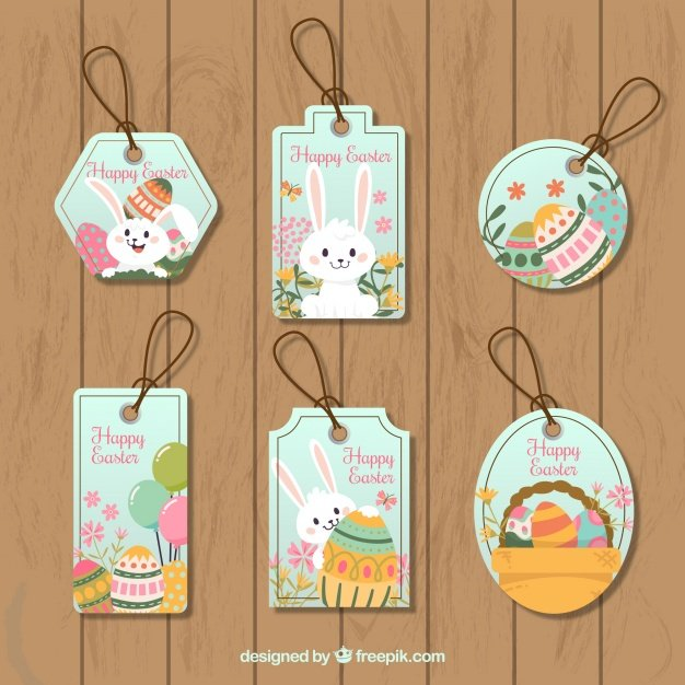 220 Best Easter Graphics in 2020: Free & Premium - pack easter tags 23 2147605353