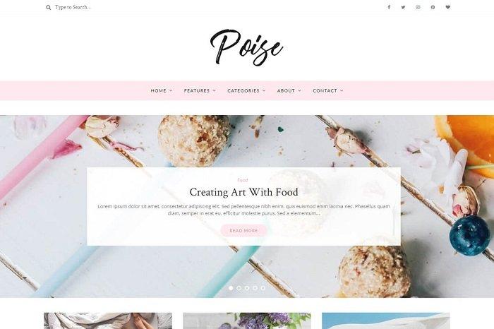 Poise - WordPress Blog Theme