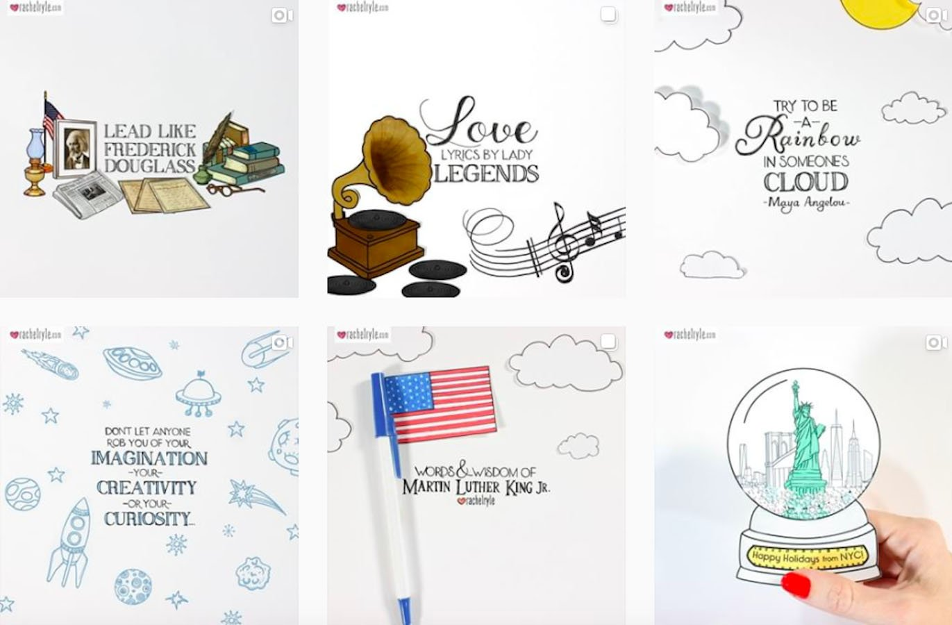 Web Design Inspiration: 110+ Accounts On Instagram and 10+ Best UX & Web Design Books in 2020 - rachelryle
