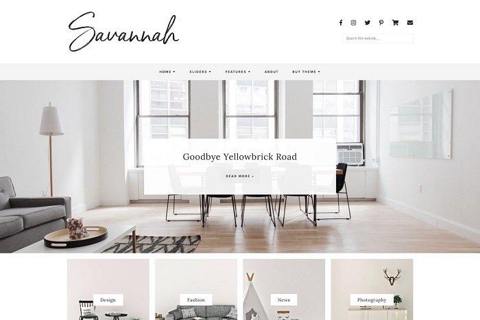Responsive WordPress Theme, Savannah