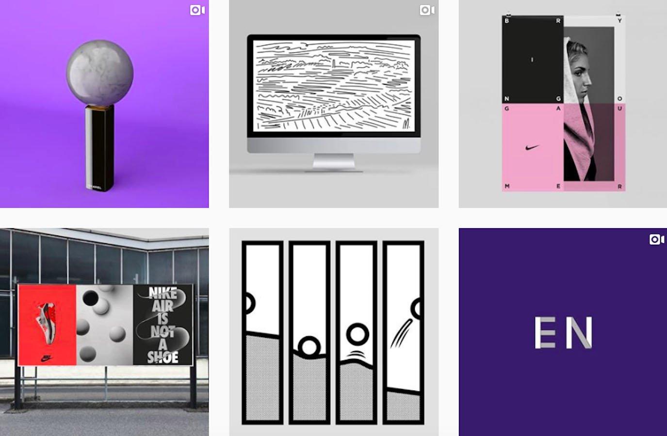 Web Design Inspiration: 110+ Accounts On Instagram and 10+ Best UX & Web Design Books in 2020 - studiofeixen