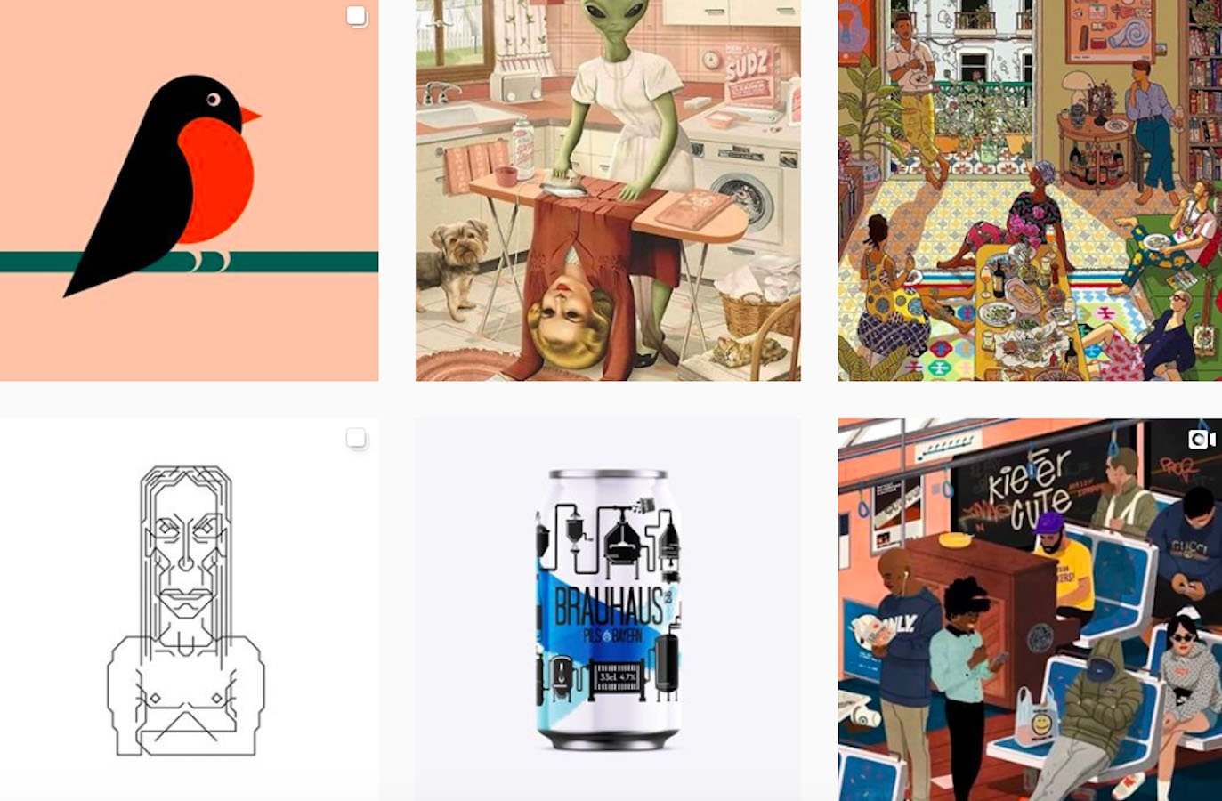 Web Design Inspiration: 110+ Accounts On Instagram and 10+ Best UX & Web Design Books in 2020 - thedesigntip