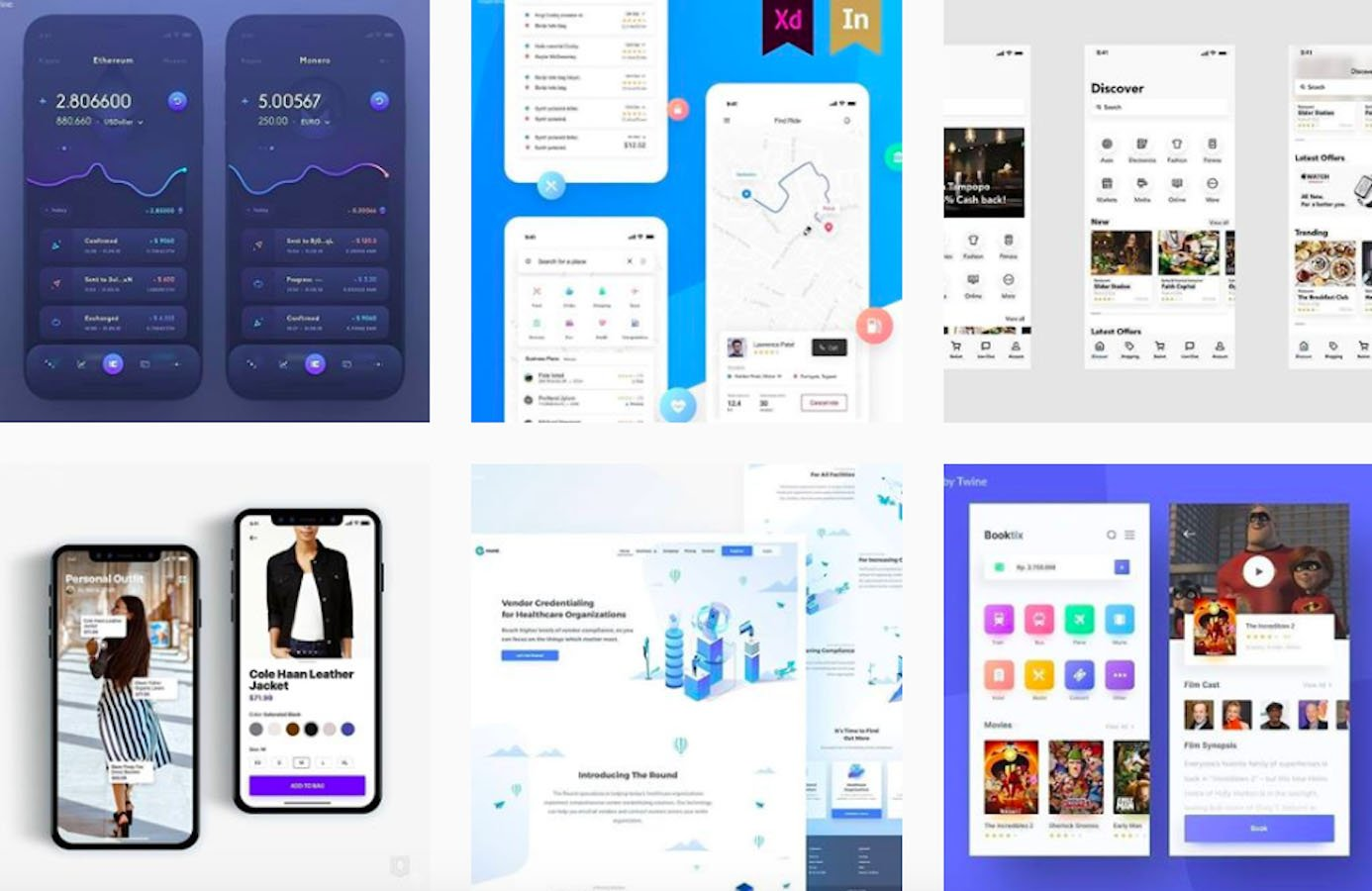 Web Design Inspiration: 110+ Accounts On Instagram and 10+ Best UX & Web Design Books in 2020 - twineuidesign