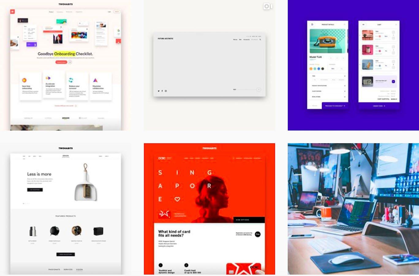 Web Design Inspiration: 110+ Accounts On Instagram and 10+ Best UX & Web Design Books in 2020 - twohabitsdesign