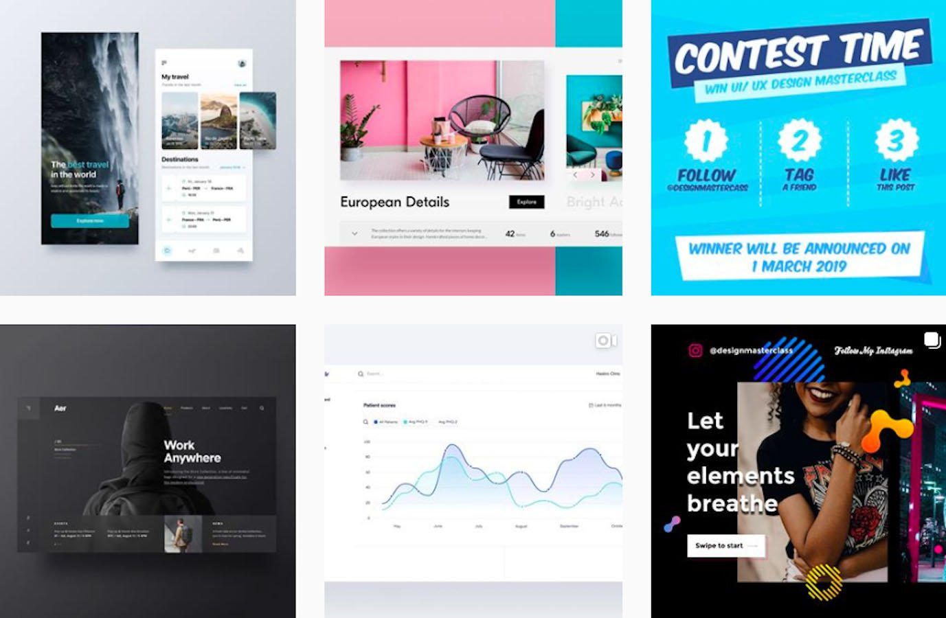 Web Design Inspiration: 110+ Accounts On Instagram and 10+ Best UX & Web Design Books in 2020 - uidesignpatterns