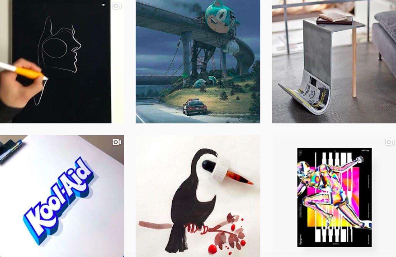 Web Design Inspiration: 110+ Accounts On Instagram and 10+ Best UX & Web Design Books in 2020 - usemuzli