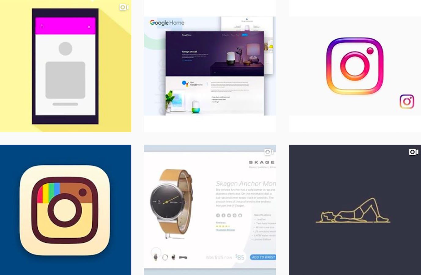 Web Design Inspiration: 110+ Accounts On Instagram and 10+ Best UX & Web Design Books in 2020 - uxdesigns