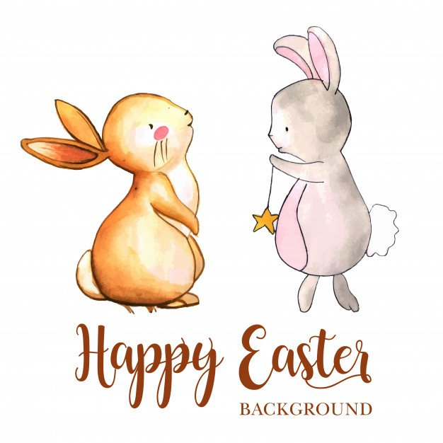 220 Best Easter Graphics in 2020: Free & Premium - watercolor easter background 1340 5510