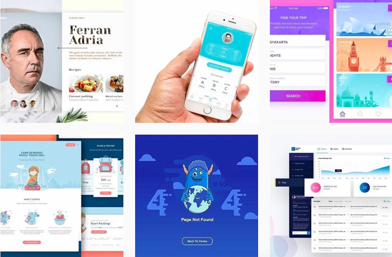 Web Design Inspiration: 110+ Accounts On Instagram and 10+ Best UX & Web Design Books in 2020 - webdesignit