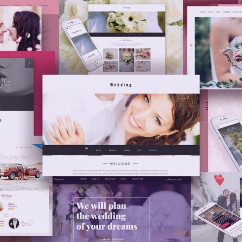 Examples Best Wedding Website Templates.