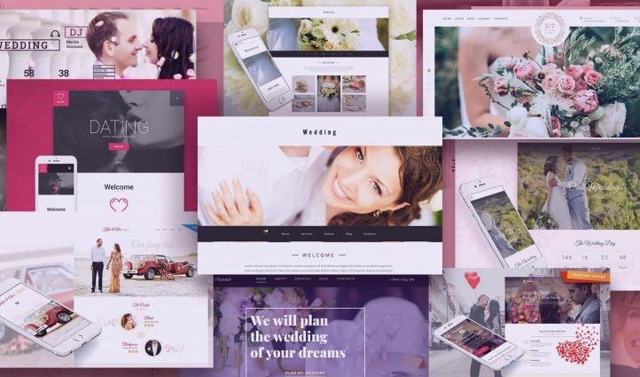 Examples Best Wedding Website Templates.