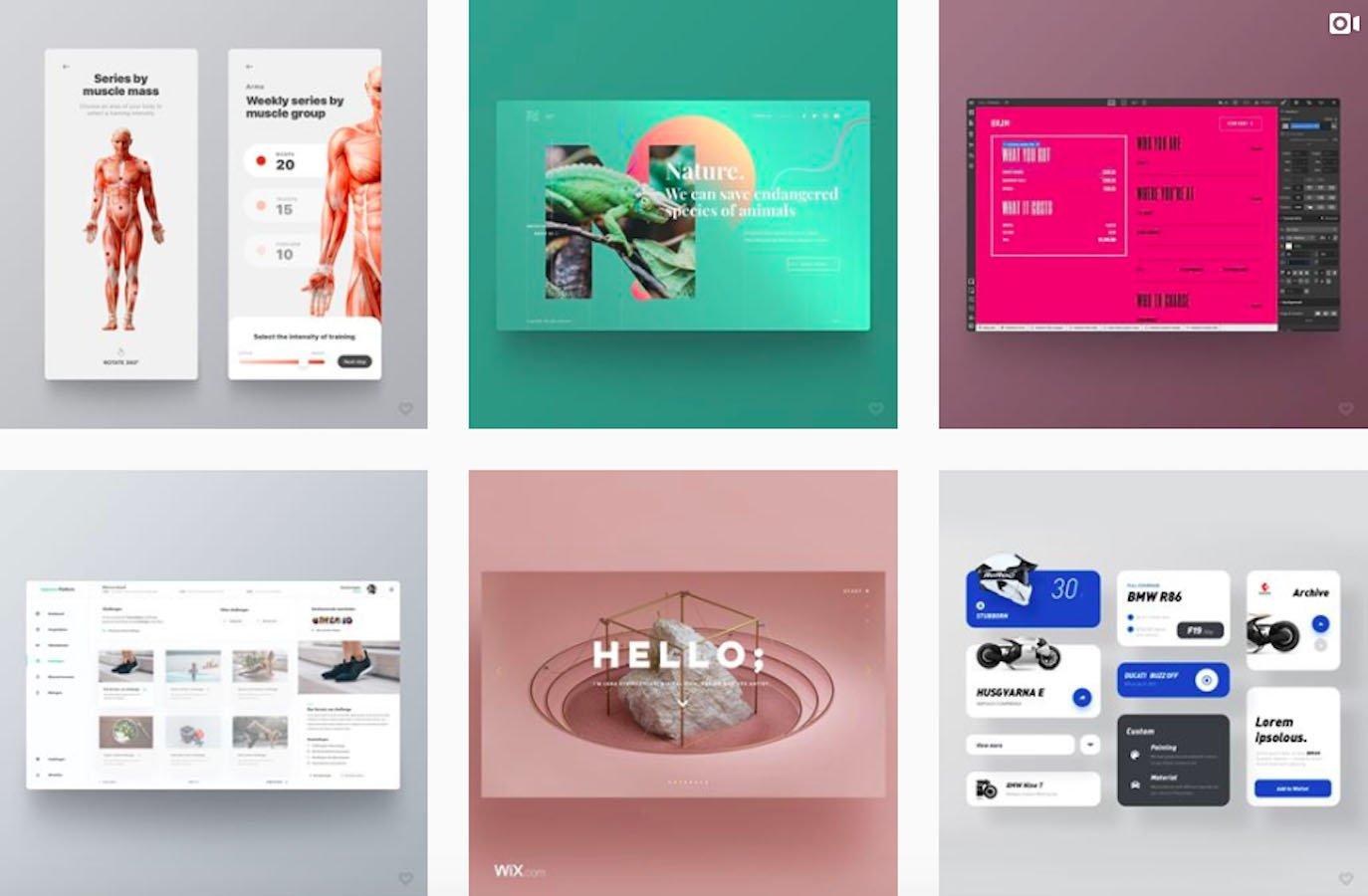 Web Design Inspiration: 110+ Accounts On Instagram and 10+ Best UX & Web Design Books in 2020 - welovewebdesign