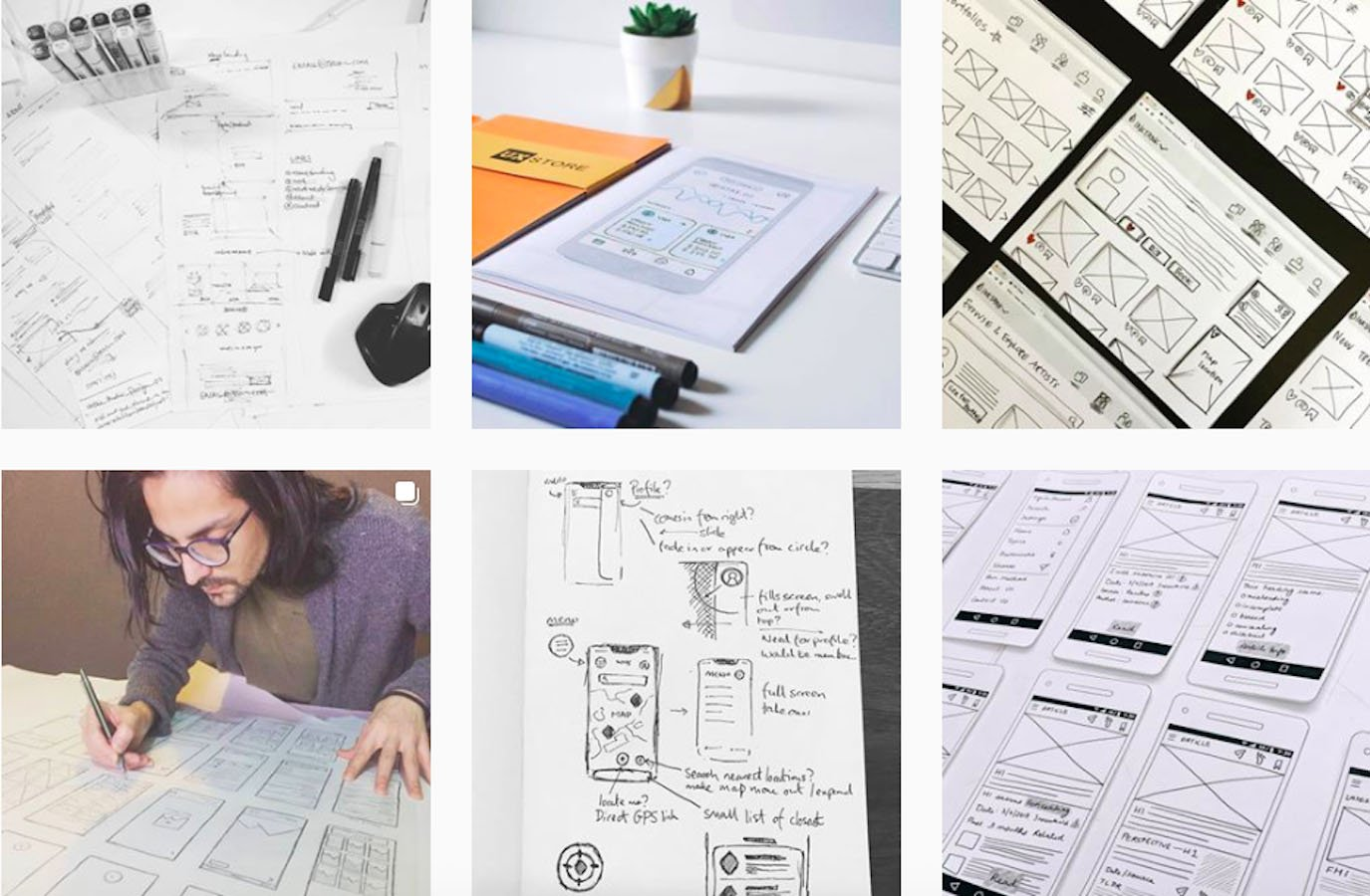 Web Design Inspiration: 110+ Accounts On Instagram and 10+ Best UX & Web Design Books in 2020 - wireflow