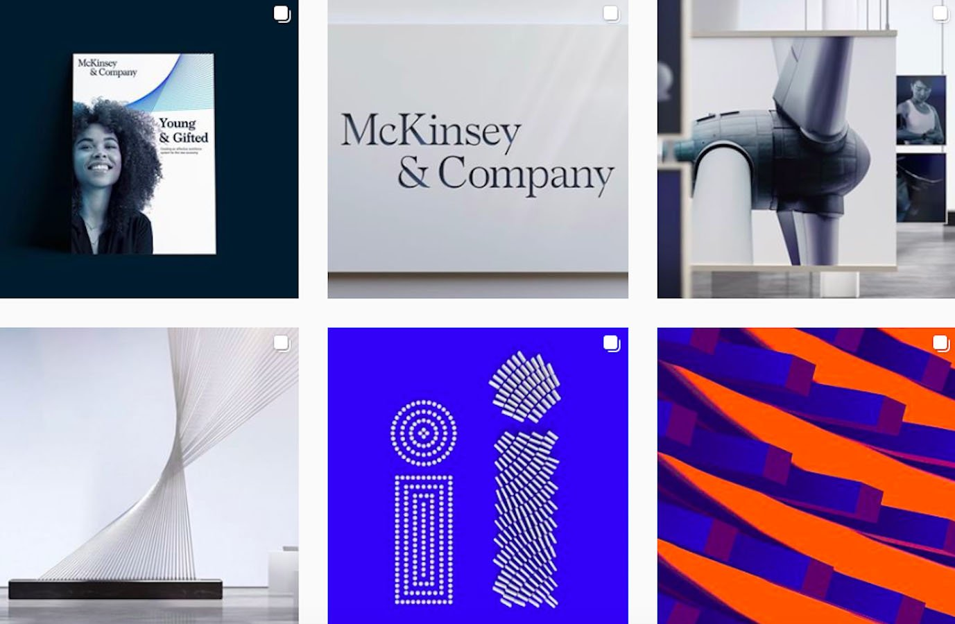 Web Design Inspiration: 110+ Accounts On Instagram and 10+ Best UX & Web Design Books in 2020 - wolffolins