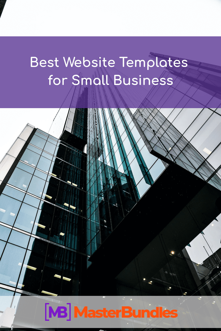 Best Website Templates for Small Business Pinterest Image