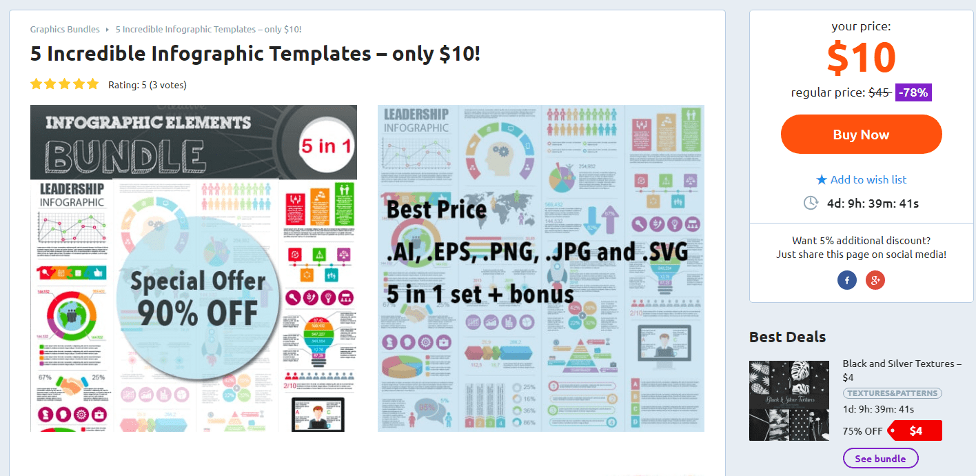5 Incredible Infographic Templates
