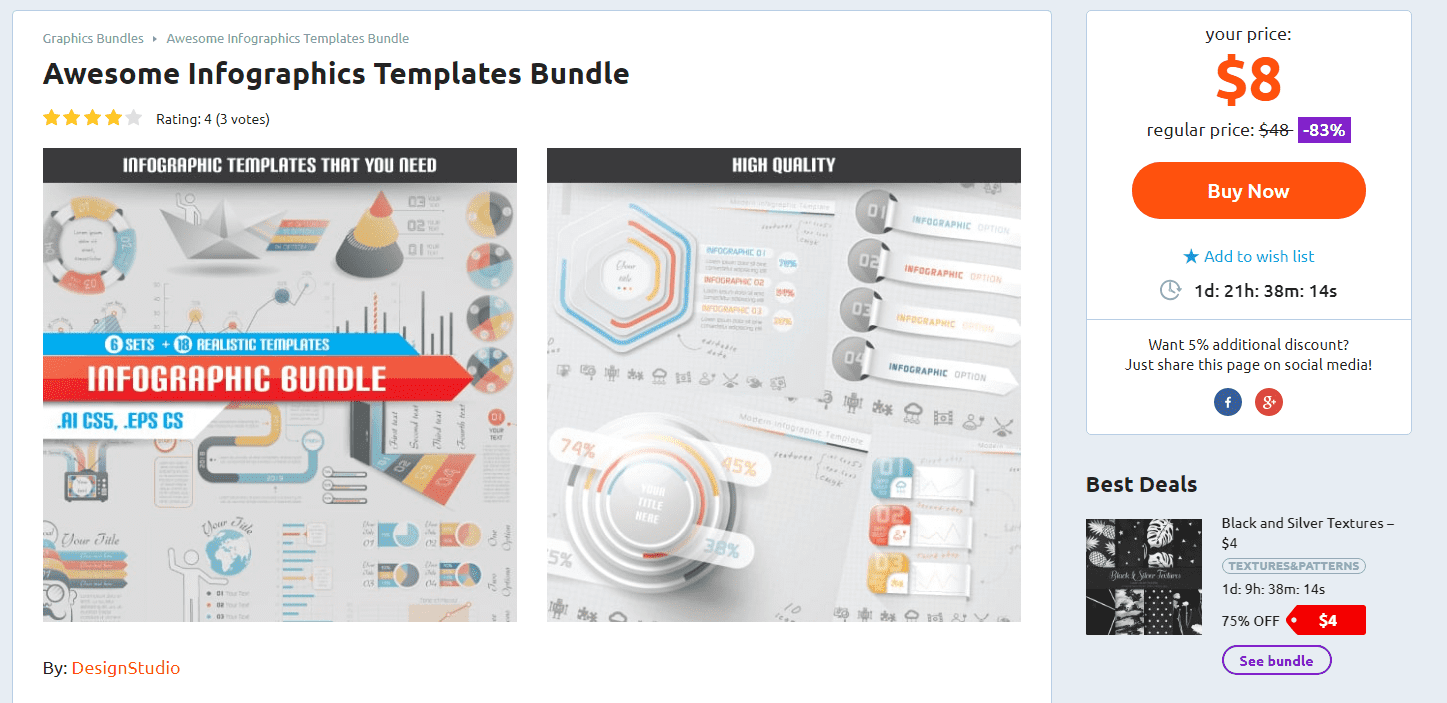 Awesome Infographics Template Bundle