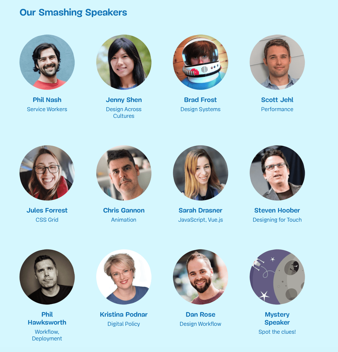 SmashingConf Will Be Back For Their Second Conference In Toronto! - smashing speakers