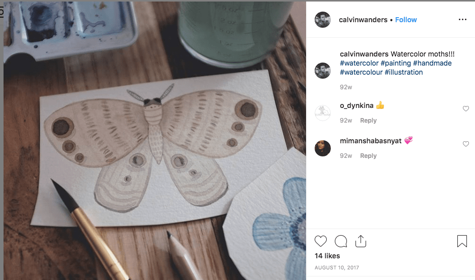 Interview with Calvin Drews a Digital Vagrant & Travelling Illustrator - Screen Shot 2019 05 17 at 23.15.20 min