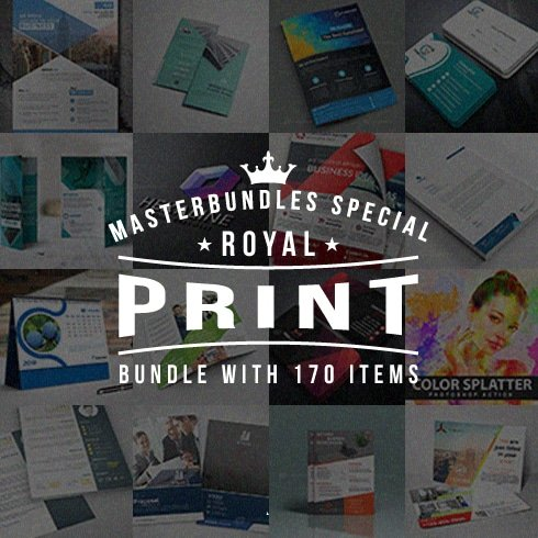Royal Print Templates Bundle with 170 Items - Only $19 - royal print templates