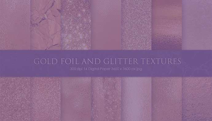 20 Best Free Gold Foil Texture 2020. Premium Bundles for Creative Use
