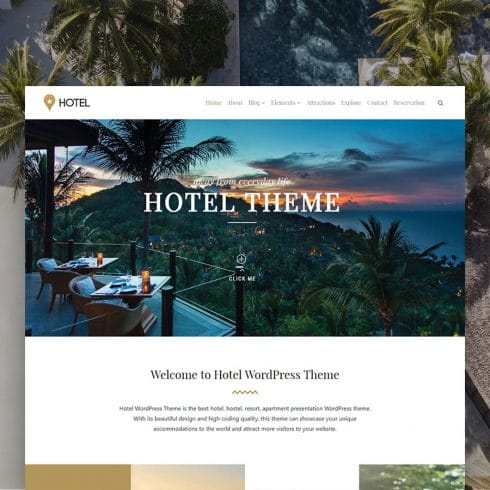 Author - Hotel WordPress Theme Resort Site Builder 490x490