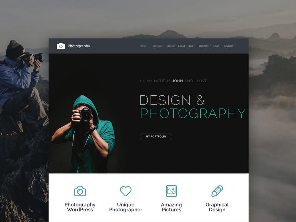 Top 35+ Creative Agency WordPress Themes - Photography WordPress Theme Gallery Site Builder