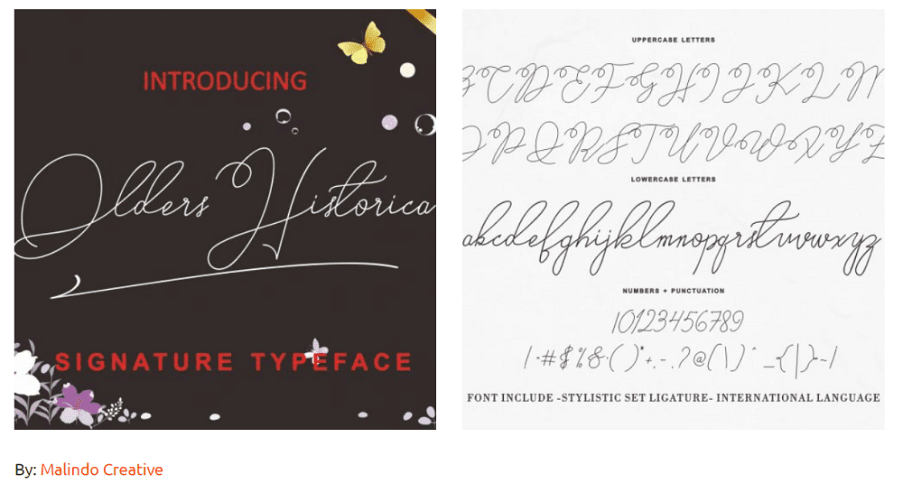 older historica signature type font Planning Your Website? Decide on Best Designing Development