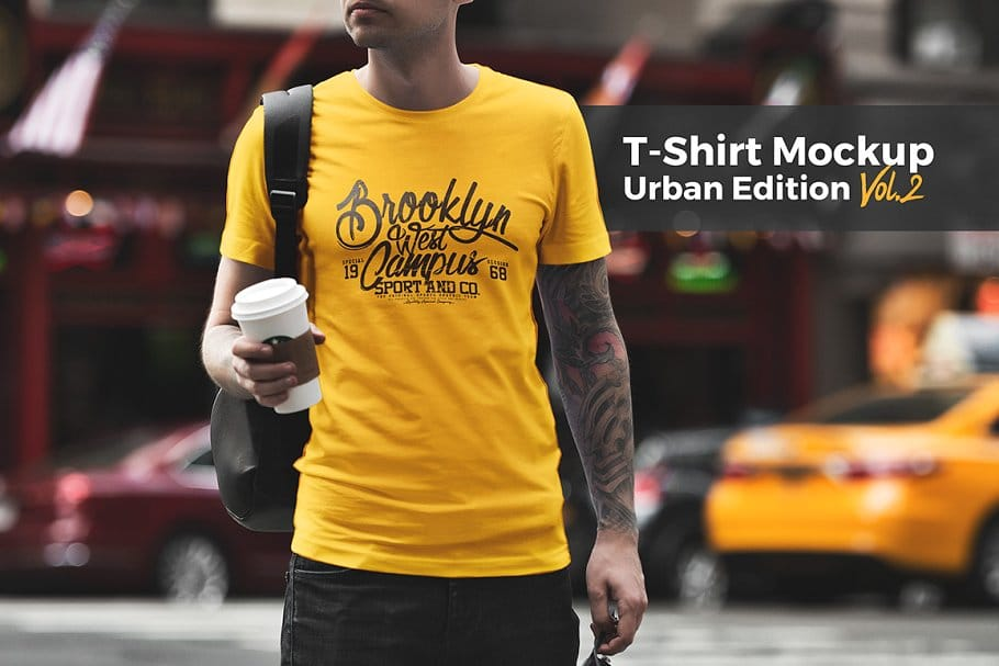 T-Shirt Mockup / Urban Edition