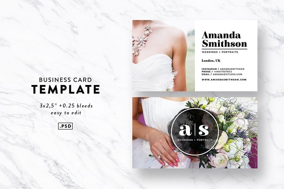 15 Best Photography Business Cards 2019 - 1 couverture