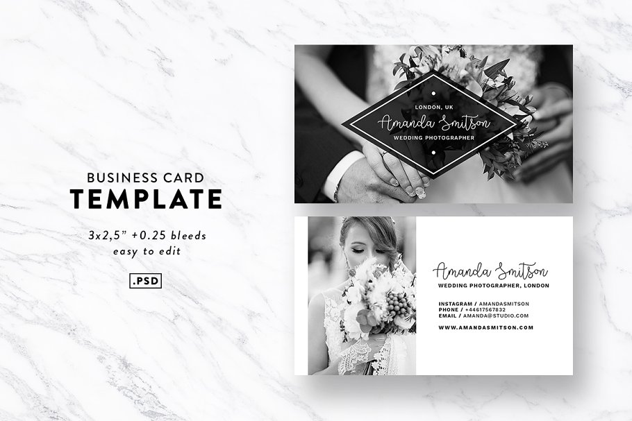 15 Best Photography Business Cards 2019 - 1 couverture 1