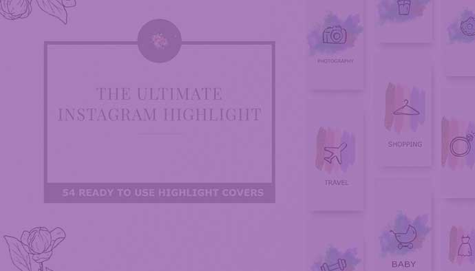 How To Create Instagram Highlight Covers? Free And Premium Instagram Highlight Icons 2020 - 690
