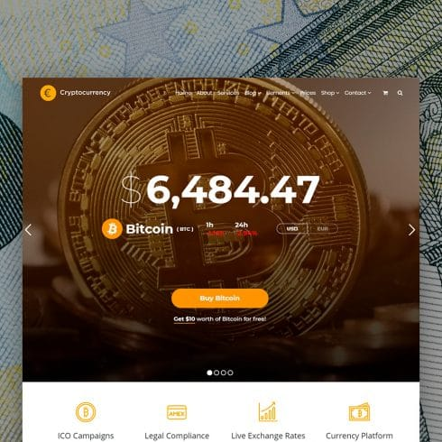 Author - Cryptocurreny WordPress Theme Home Page 490x490